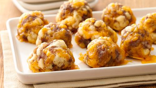 Sausage Crescent Cheese Balls